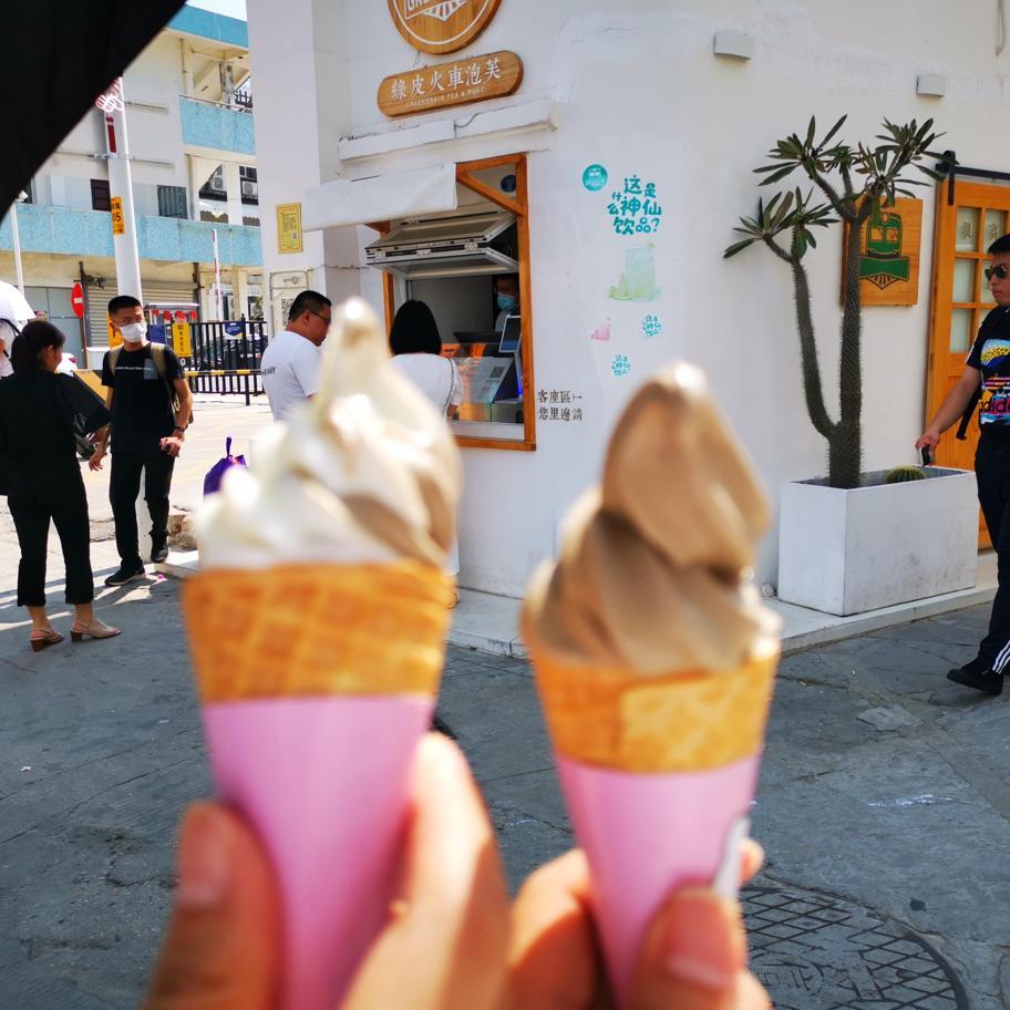 冰淇淋双份快乐